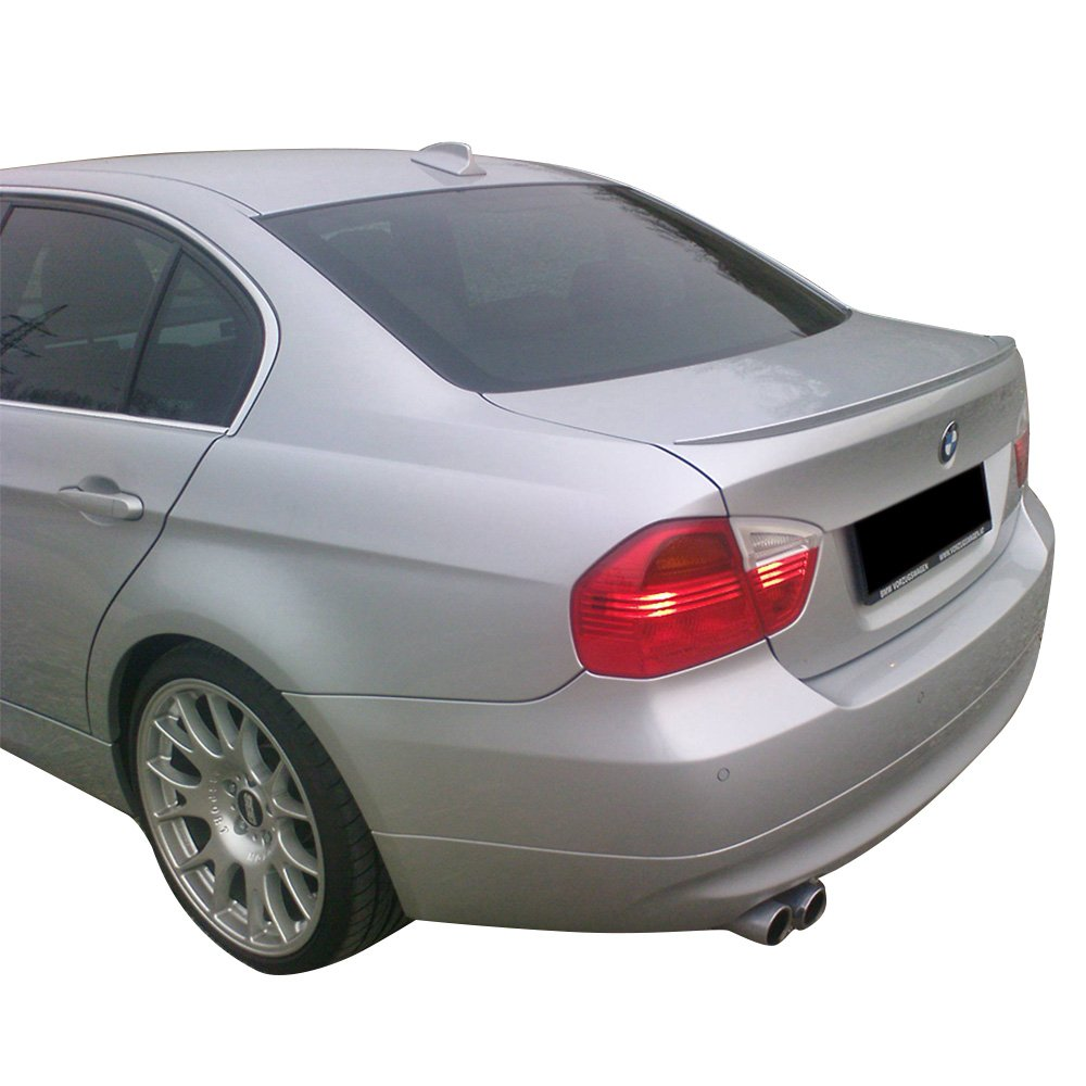 Rear Trunk Spoiler Fits 2006-2011 BMW 3-Series E90 M3 Unpainted ABS Other Color Available by IKON MOTORSPORTS