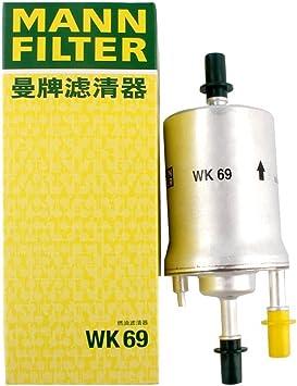[SCHEMATICS_48IS]  Amazon.com: Mann-Filter WK69 Inline Fuel Filter (Pack of 2): Automotive | Inline Fuel Filter Mann |  | Amazon.com