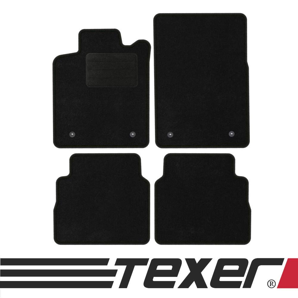 2003-2008 Basic TEXER Textil Fu/ßmatten Passend f/ür Opel Signum Bj