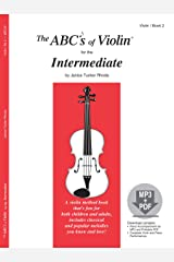 The ABCs of Violin for the Intermediate, Book 2 (Book & MP3/PDF) Sheet music