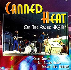 Canned Heat On The Road Amazon Ca Music