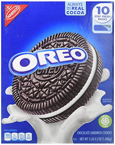 Nabisco Oreo Cookies-America Favorite Cookie, 3 lb 4.5 oz. Box
