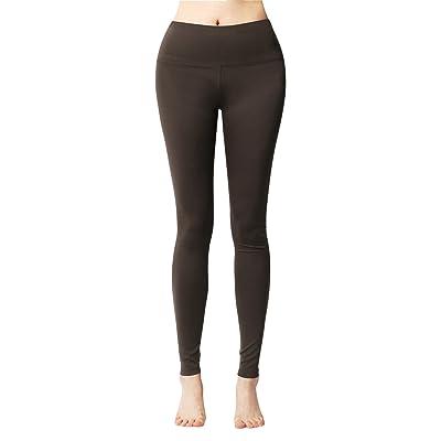 ACTICLO Women's Tummy Control Sports Running Yoga Workout Leggings Pants Hidden Pocket