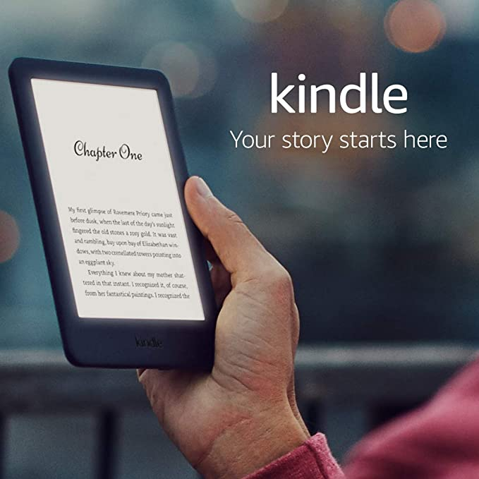 Kindle | Now with a built-in front light—with Special Offers—Black: Amazon.co.uk: Amazon Devices