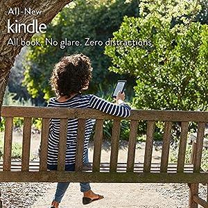 "Certified Refurbished Kindle E-reader - Black, 6"" Glare-Free Touchscreen Display, Wi-Fi"
