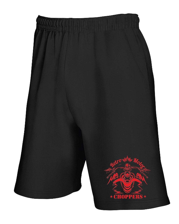 Speed Shirt Pantaloncini Tuta Nero TB0399 Retro Label Badge And Elements Pantaloncini
