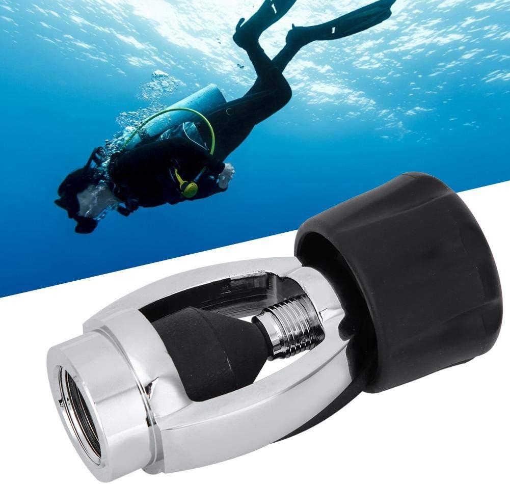 DIN to Yoke Adapter Heavy Duty Scuba DIN to Yoke Adapter Diving Cylinder Adapter Scuba Bottle Adapter Tank Fill Connector DIN to Yoke G5//8 Regulator Adapter