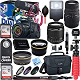 Canon EOS Rebel T7i Digital SLR Camera Video Creator Kit + EF-S 18-55mm IS STM & 70-300mm Dual Lens Accessory Bundle Review