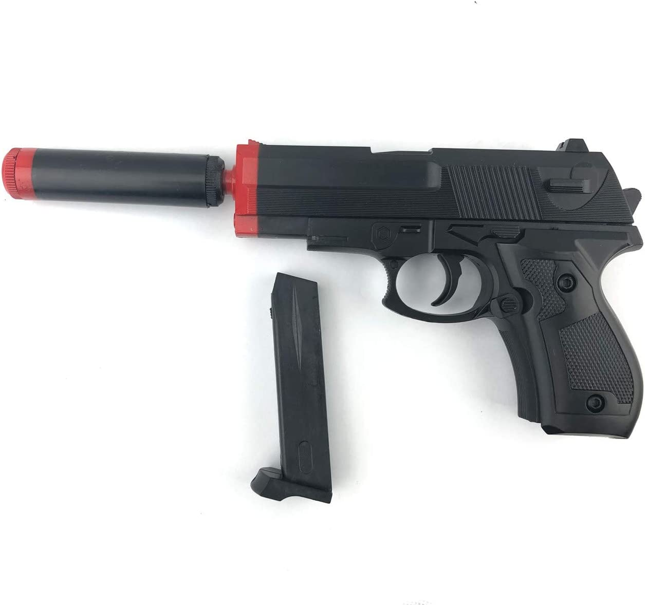 MediaWaveStore 129422 Pistola de Juguete VINPORTEX para niños con balínes y Cargador