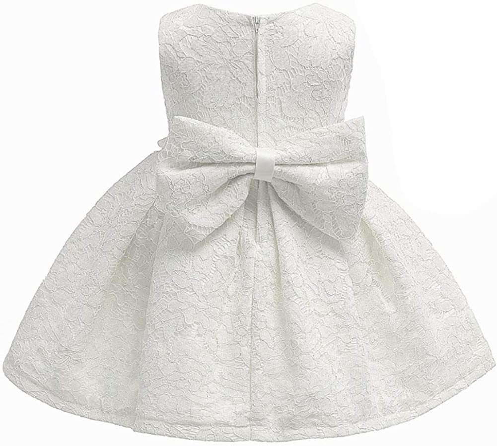 LZH Vestido Formal de Ni/ña Bautizo Bautizo Princesa Boda Vestido de Cumplea/ños