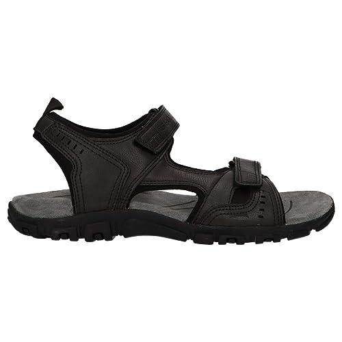 Hombre Sandal Con Punta Abierta ASandalias Para Strada Uomo Geox Ygyb67f