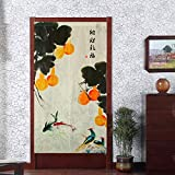 Japanese Noren Curtains Doorway Cloth Curtain Traditional Door Noren