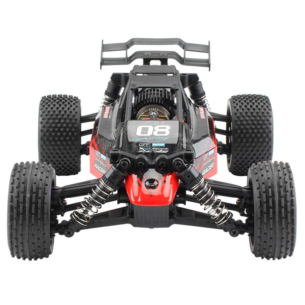 ASfairy G171 1:16 2.4G 4WD Scale Large RC Cars 36km/h+ Speed | Boys Remote Control Car Monster Truck Electric | All Terrain Waterproof Toys Trucks for Kids and Adults by ASfairy (Image #3)