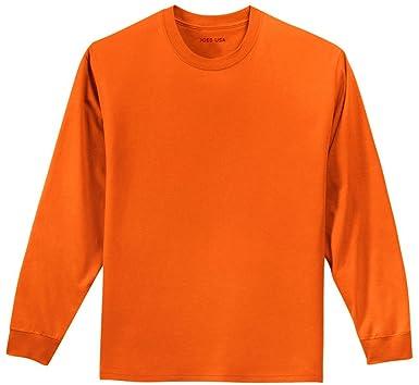 Amazon.com: Joe's USA Youth Long Sleeve 100% Cotton T-Shirts in 16 ...