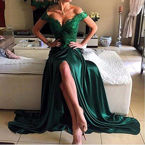 Women's Evening Dreagel Prom Dress Backless Long Formal Sexy Burgundy Dresses wvwdnqBt