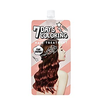 Missha 7 Days Coloring Hair Treatment Pink Brown