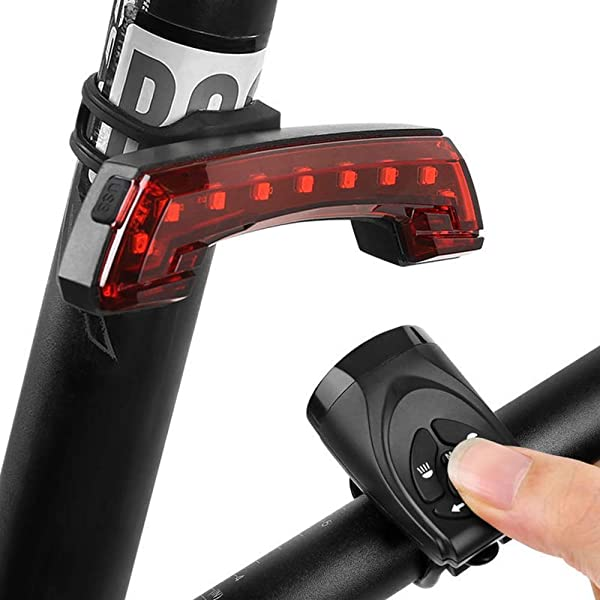 luces intermitentes de encendido Luz trasera inteligente para bicicleta