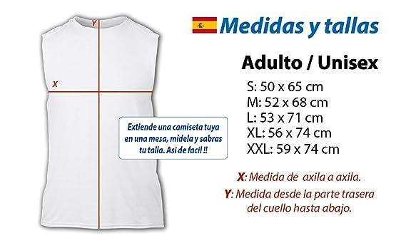 Camiseta SIN Mangas GAYSPER Fantasma Gay VOX Tshirt: Amazon.es ...