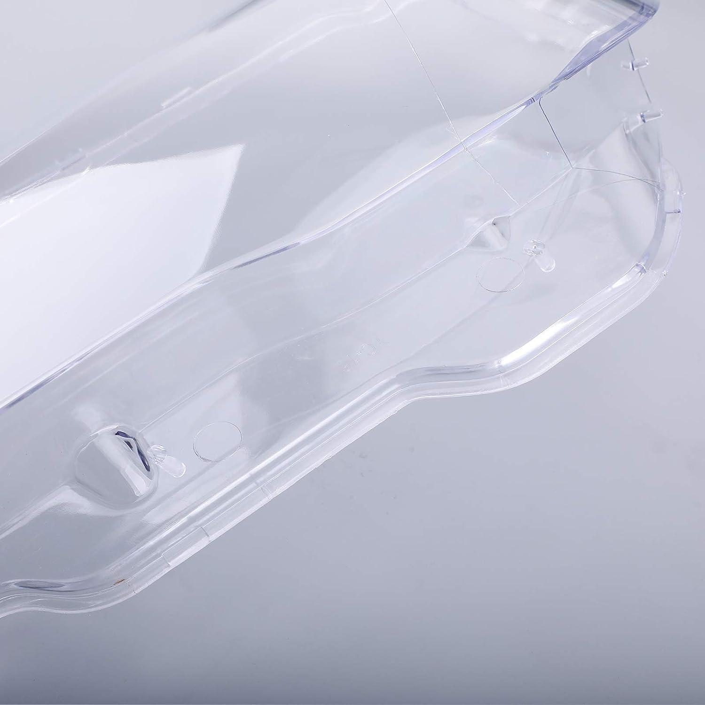 Areyourshop 1 Paar Scheinwerfer-Glas-Abdeckung f/ür B-M-W 7 E65 E66 LCI 2005 2008