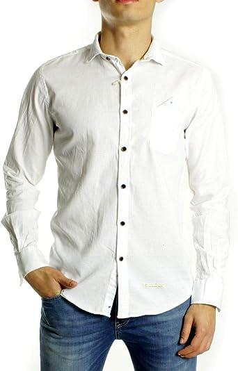 Alessandro Lamura Camisa Blanca XL: Amazon.es: Ropa