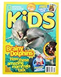Best National Geographic Magazines For Kids - National Geographic Kids Magazine: Brainy Dolphins (June/July 2017) Review