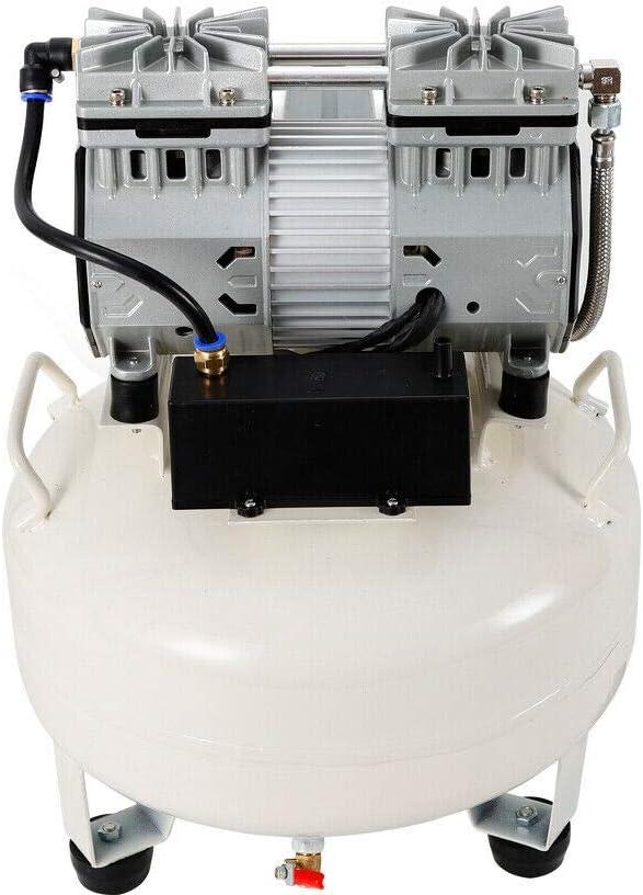Compresor de aire silencioso de 680 W, 30 l, compresor de aire silencioso, sin aceite: Amazon.es: Bricolaje y herramientas