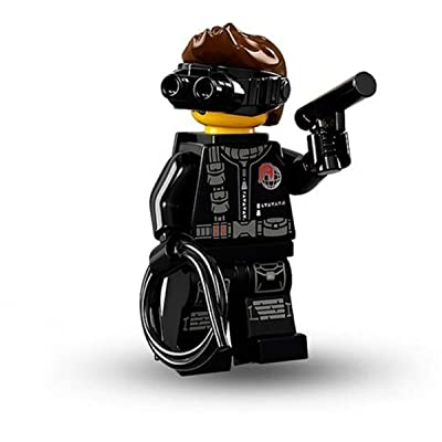 LEGO Series 16 Collectible Minifigures - Secret Agent Spy (71013): Toys & Games