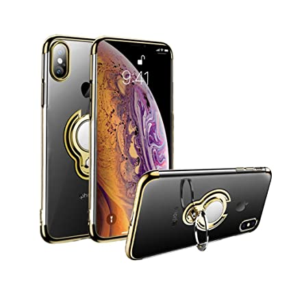Amazon.com: Obvie Crystal Clear - Carcasa para iPhone XS ...