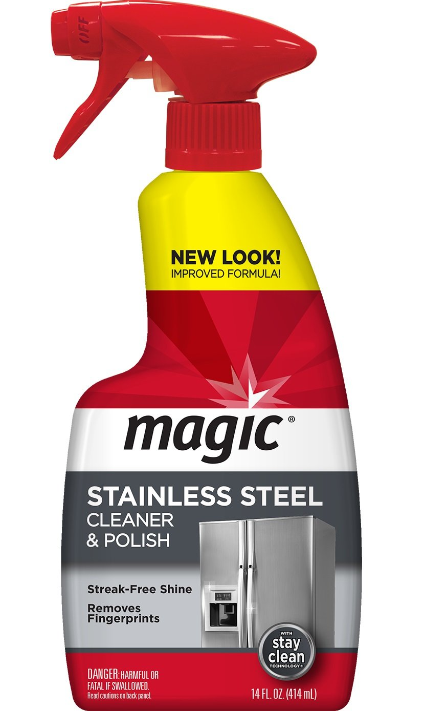 Magic Stainless Steel Cleaner, 14-Ounce 3055