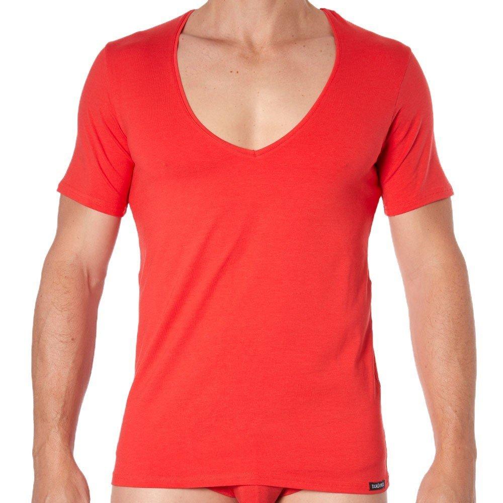 Doreanse Men's 2820 Deep V Neck T-Shirt t-Shirt