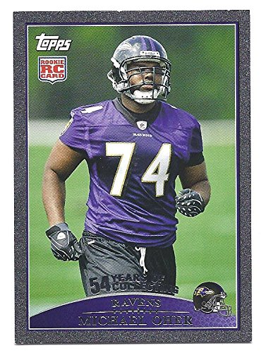 a74f6e2f MICHAEL OHER 2009 Topps #342 BLACK PARALLEL RC Rookie Card #03 of ...