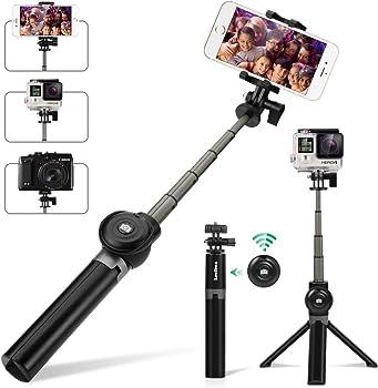 Leelbox Bluetooth Selfie Stick with Tripod & Detachable Wireless Remote