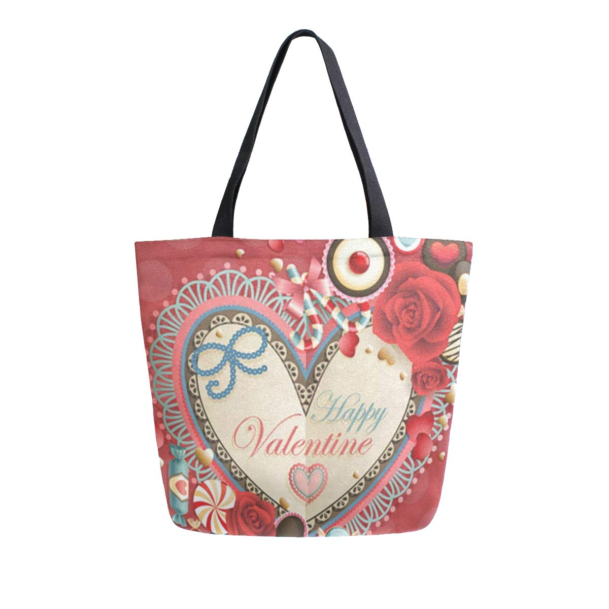 Canvas Tote Bag Alentines...