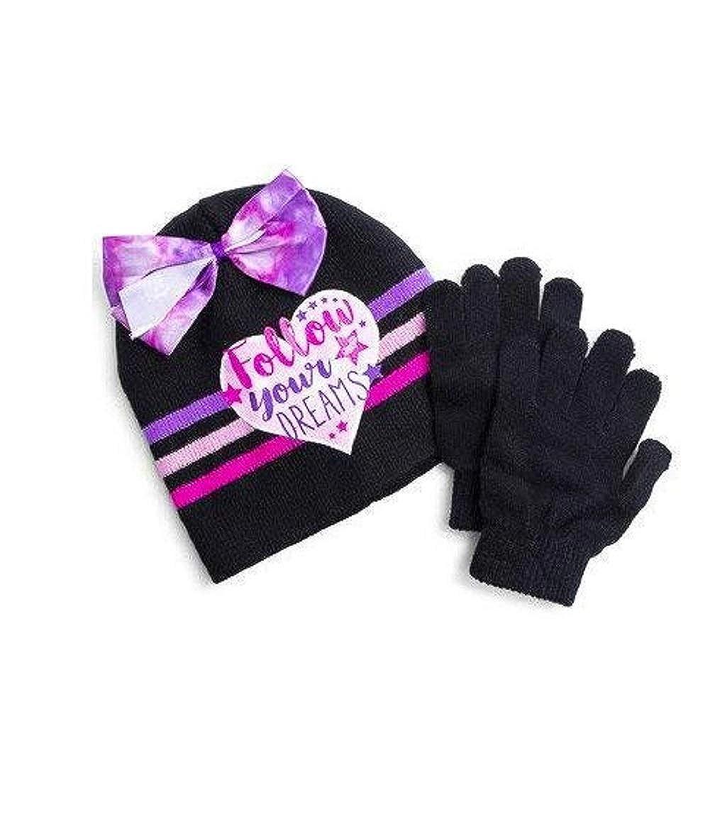 JoJo Siwa Follow Your Dreams Winter Hat Beanie and Gloves Set