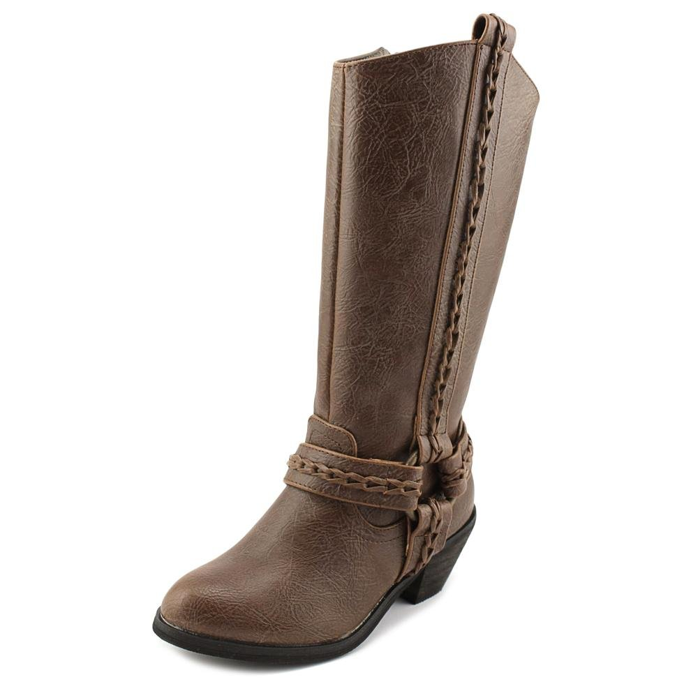 Volatile Kids Galia Youth US 2 Brown Knee High Boot