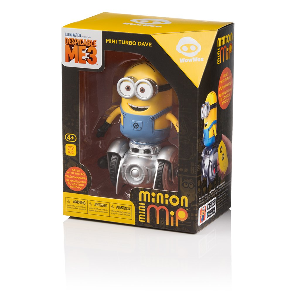 WowWee Mini Minion MiP Turbo Dave - Miniature Remote-Controlled Robot Toy by WowWee (Image #2)