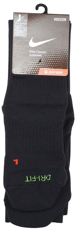 Nike Classic Mens Cushioned Soccer Socks Medium Black by Nike