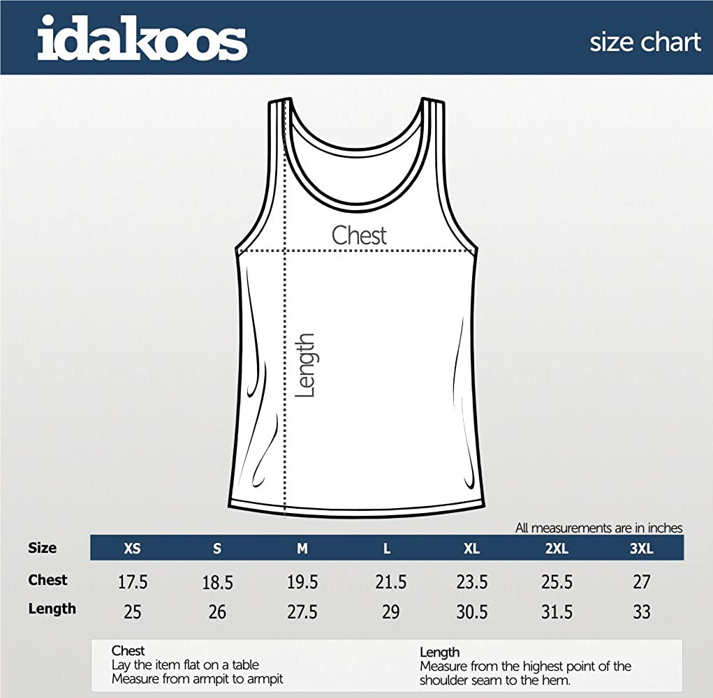 Idakoos Georgia Three Words Tank Top