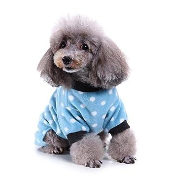 Johlye Ropa para Mascotas Pijama Ropa para Perros Pijama Ligero ...