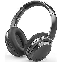 EGGWHY Active Noise Cancelling 28 dB, bezprzewodowe słuchawki nauszne Bluetooth z mikrofonem CVC 8.0, 50-godzinny czas…