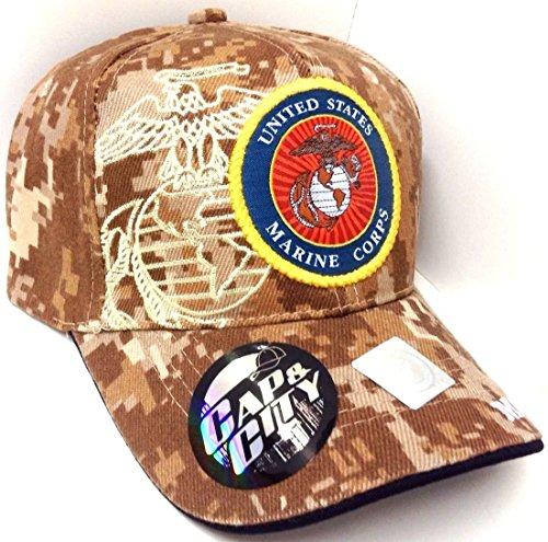 Seal United States Marines Corps USMC Digital Camo Camouflage Hat Cap [Apparel]