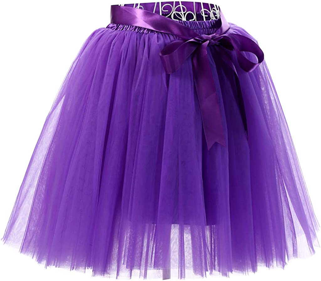 Qijinlook 💖 Falda Corta Elegante Vintage Mujer/Mini Falda Gasa ...