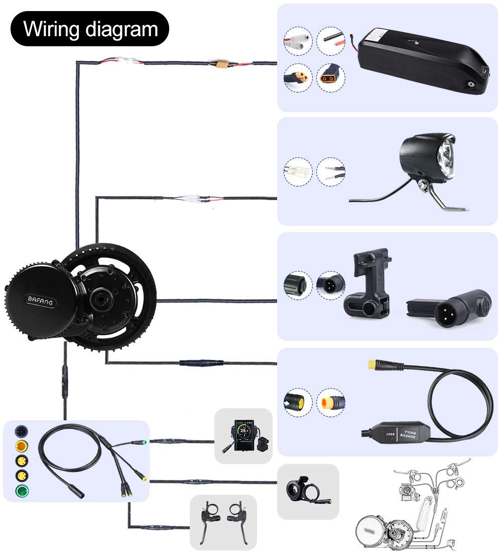 Amazon.com : BAFANG BBS02B 48V 500W 750W BBSHD 1000W Motor Electric on engine diagrams, series and parallel circuits diagrams, troubleshooting diagrams, honda motorcycle repair diagrams, gmc fuse box diagrams, internet of things diagrams, lighting diagrams, electrical diagrams, battery diagrams, smart car diagrams, hvac diagrams, switch diagrams, pinout diagrams, friendship bracelet diagrams, motor diagrams, sincgars radio configurations diagrams, transformer diagrams, led circuit diagrams, electronic circuit diagrams,