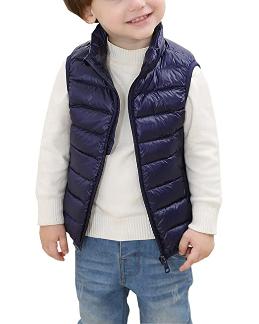 ff3566455 Chaleco Infantil Niño Niñas Chaqueta Sin Manga Invierno Vest Chaquetas de  Plumón: Amazon.es: Ropa y accesorios