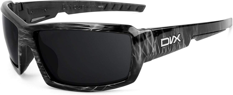 Revant Verres de Rechange pour DVX Eyewear Detour - Compatibles avec les Lunettes de Soleil DVX Eyewear Detour Bronze Mirrorshield - Polarisés