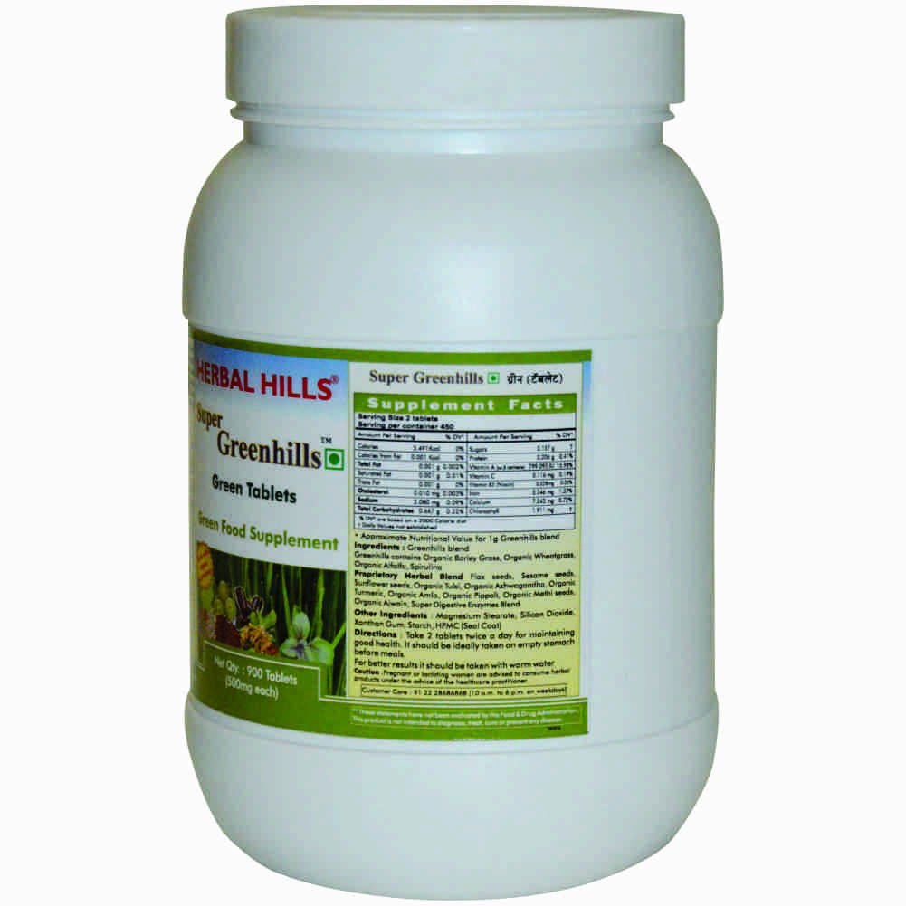 Buy Super Greenhills - Value Pack 900 Tablets Online at Low Prices ...