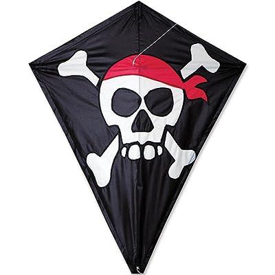 Premier Kites 25 Diamond Kite - Skull & Crossbones: Sports & Outdoors