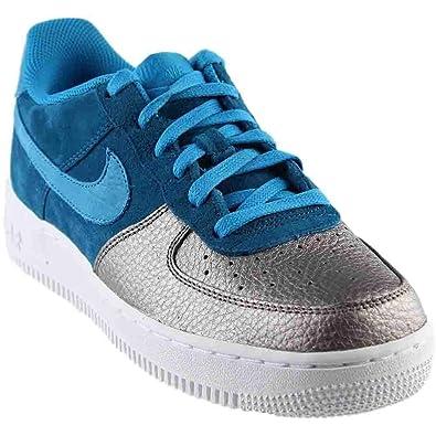 9c076a64ec22 Amazon.com  Nike Mens Air Force 1 QS Grade School Athletic ...