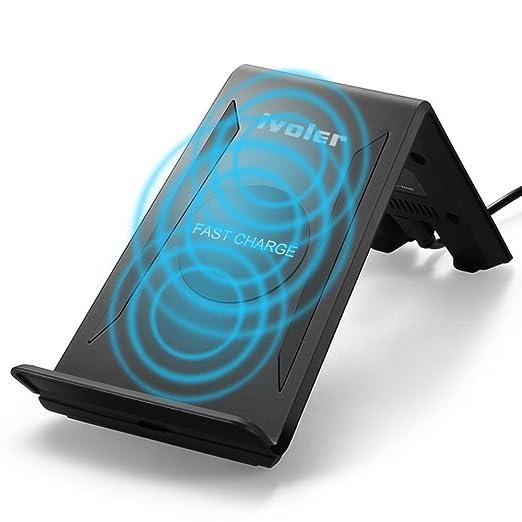 15 opinioni per Caricabatterie Wireless di Qi Standard con 3 Bobine Fast Charger (Massimo 10W in