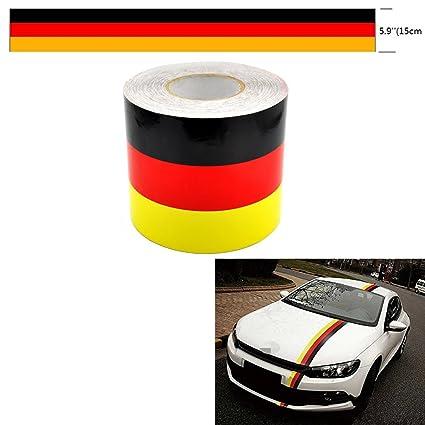 Amazon Com Azqkj 1m Racing Car Body Side Stripe Decal Sticker For